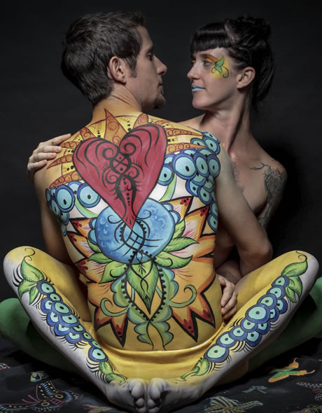 Body Painting with Photo Shoot