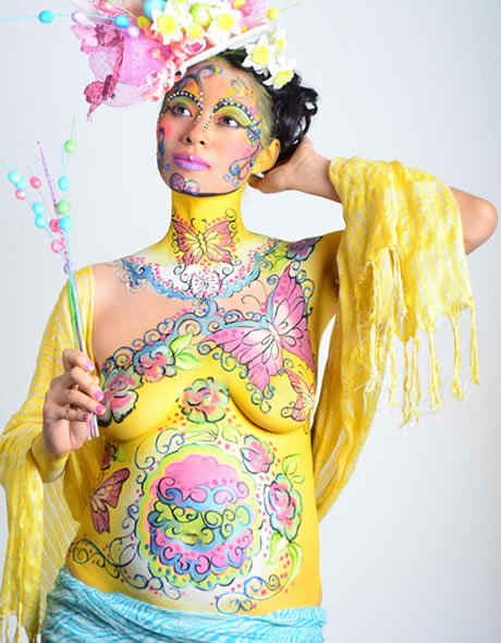 Maternity Body Painting